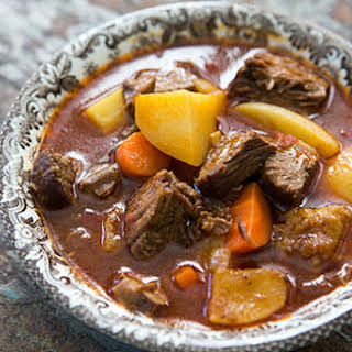 Short-Rib Beef Stew with Ale.