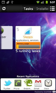 Slapps: slide your apps! - screenshot thumbnail
