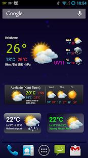 Au Weather Free - screenshot thumbnail
