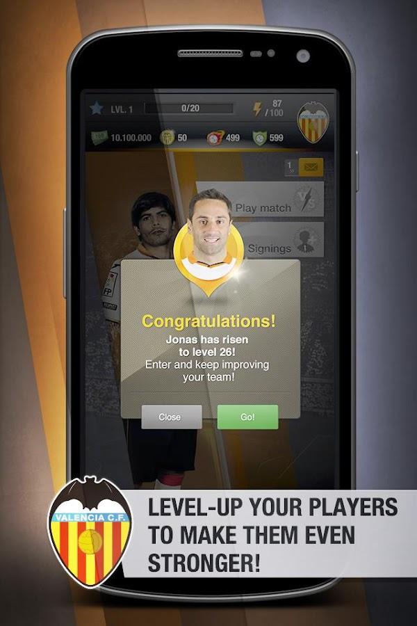 Valencia CF FantasyManager '14 - screenshot