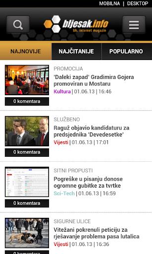 Bljesak.info Mobile
