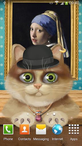 Animated Kitten Live Wallpaper
