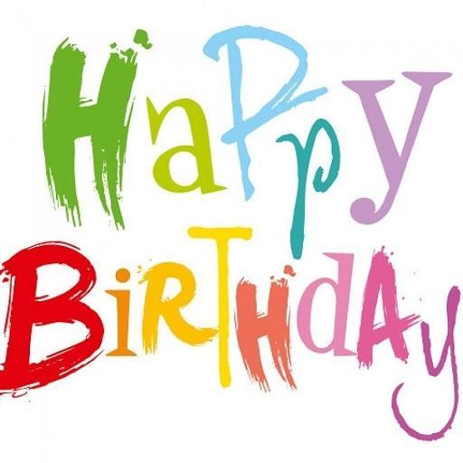 Happy Birthday Card GIF Frame