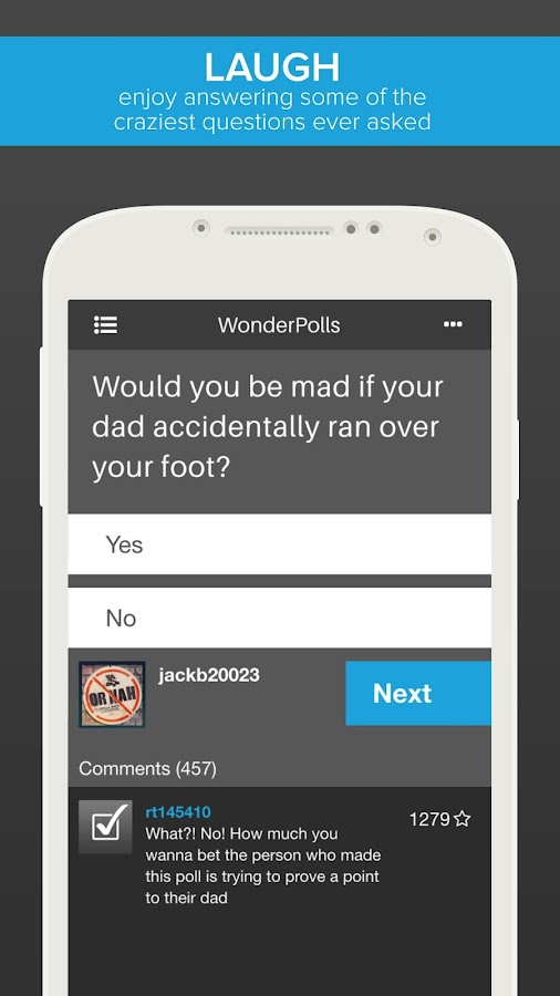Wonder Polls: Free Version- screenshot