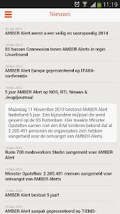 AMBER Alert- screenshot thumbnail