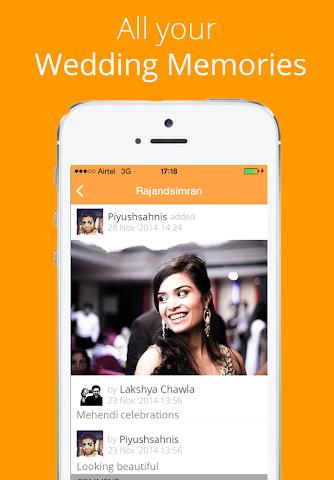 Screenshots for WhenWeMarry  Wedding App