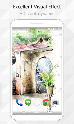 Water Color Live Wallpaper
