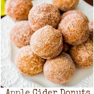 Apple Cider Donut Holes.