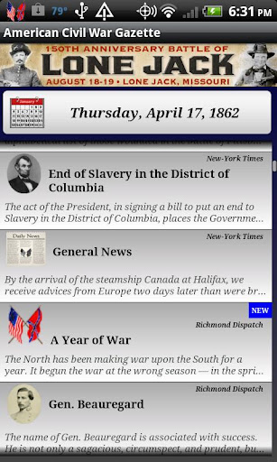 【免費教育App】1862 Dec Am Civil War Gazette-APP點子