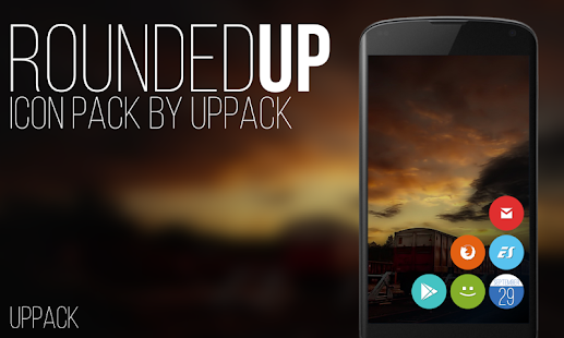 Rounded UP - icon pack- screenshot thumbnail