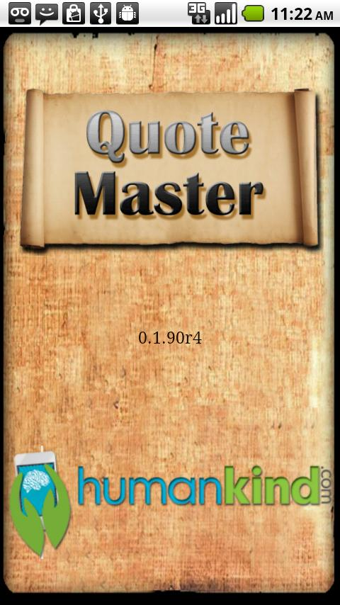 QuoteMaster- screenshot