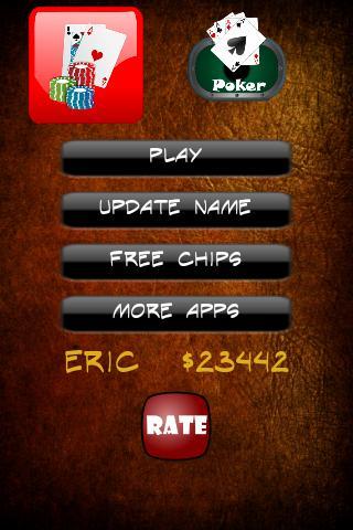 Texas Holdem Poker Free - screenshot