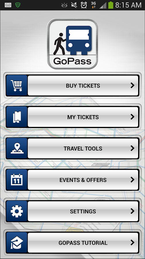 GoPass - screenshot