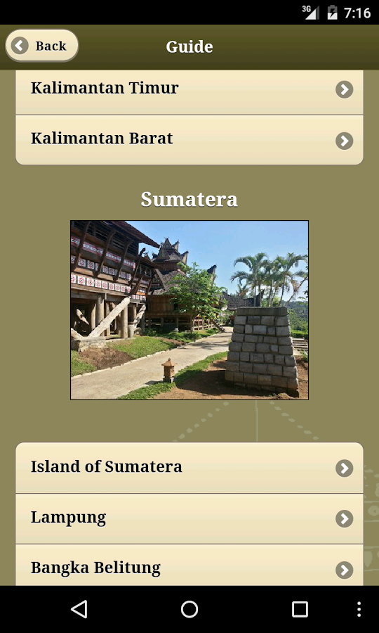 Taman Nusa Visitors Guide- screenshot