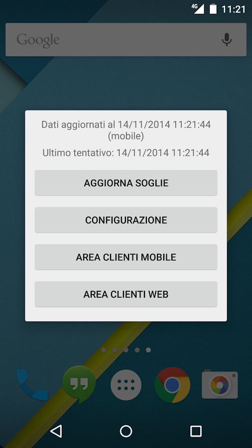 Widget 3 Italia- screenshot