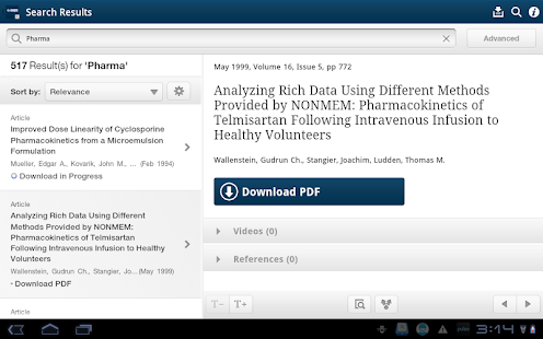 AAPS Journals- screenshot thumbnail