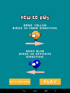 Swipe the birds- screenshot thumbnail