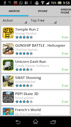 Mobile Game Store