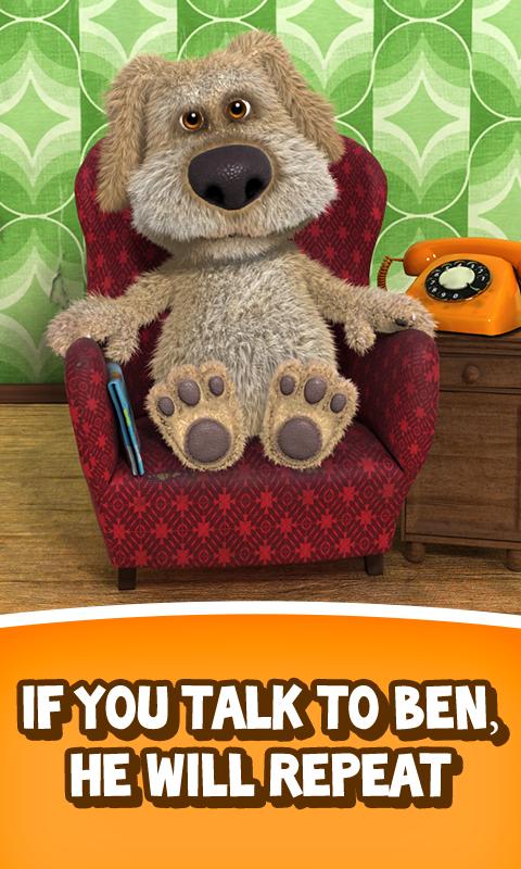 Talking Ben the Dog - screenshot