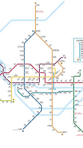 广州地铁路线图