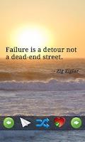 Screenshot of Motivational Quotes - Success