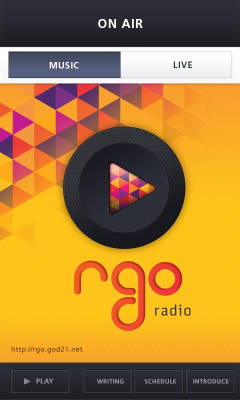 RGO Radio - screenshot