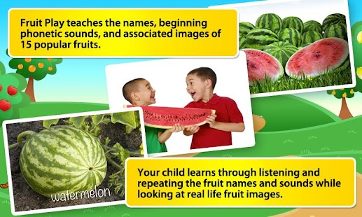 Toddlers First Words Fruits- screenshot thumbnail
