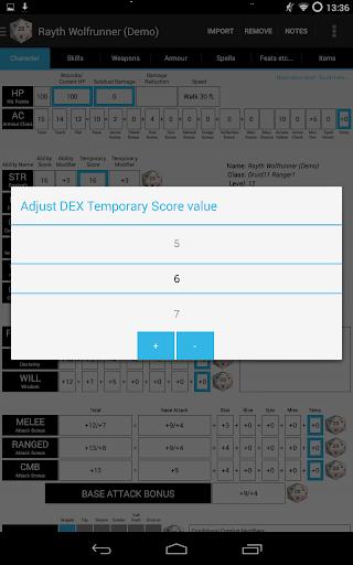 【免費娛樂App】PCGen Character Sheet Lite-APP點子