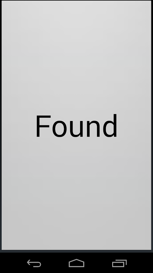 Find phone - screenshot