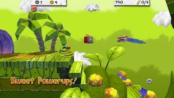 Screenshot of Paper Monsters 3d platformer