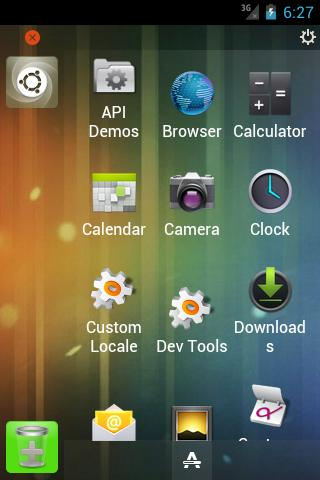 Ubuntu Launcher (Beta) - screenshot