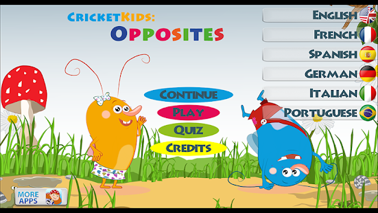 Cricket Kids: Opposites - Android Apps on Google Play
