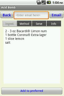 Cocktails- screenshot thumbnail