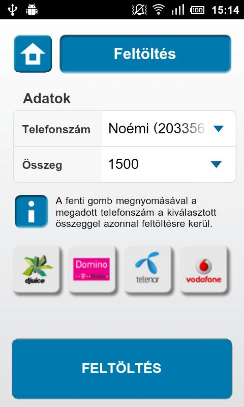 eTopup- screenshot