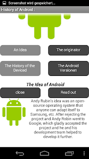 History of Android- screenshot thumbnail