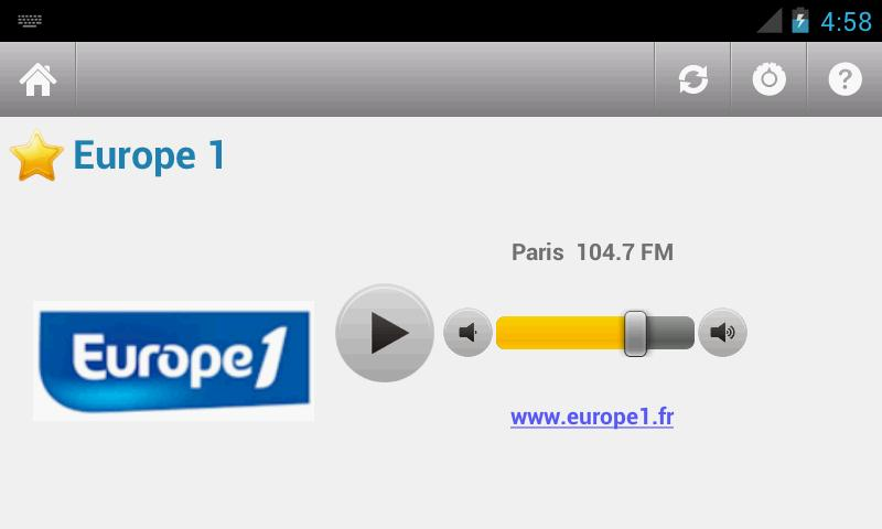 France Radio - screenshot