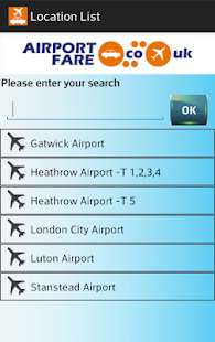 Airport Fare- screenshot thumbnail