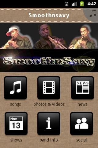 Smoothnsaxy- screenshot