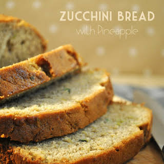 Zucchini Bread with Pineapple.