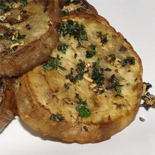 Herbed Eggplant Slices