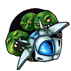 Wasabi Pea Invaders icon