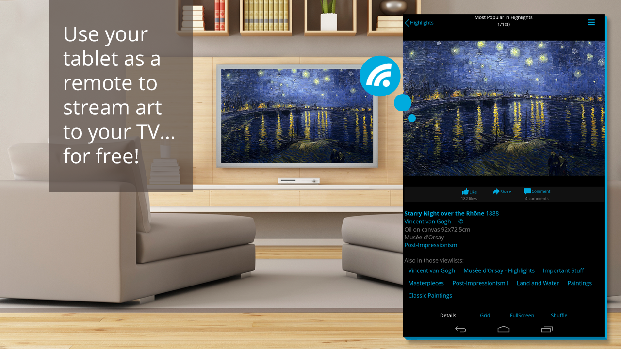 Artkick: Art for Free on TV - screenshot