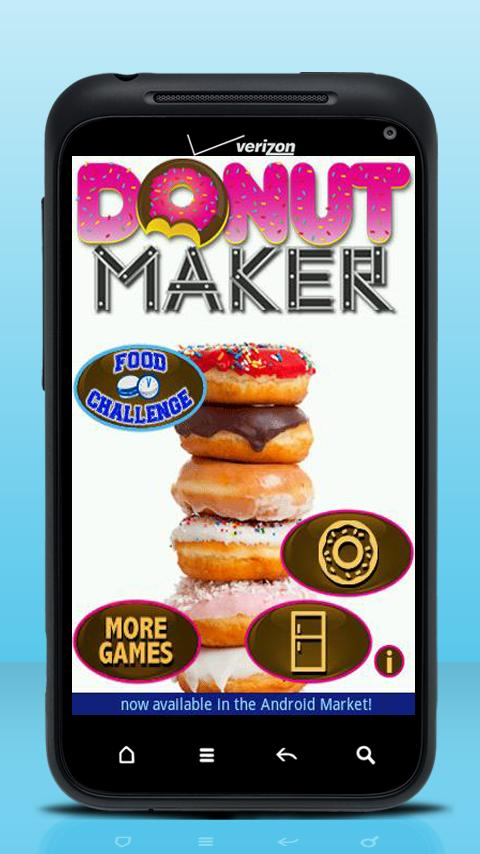 Donut Maker - screenshot