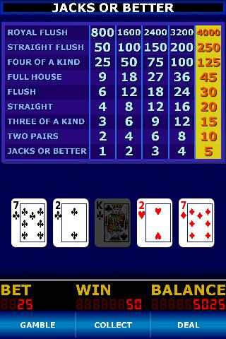 video poker 9 6 jacks or better strategy card
