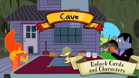 Time card wars play the game inspired by the adventure time episode