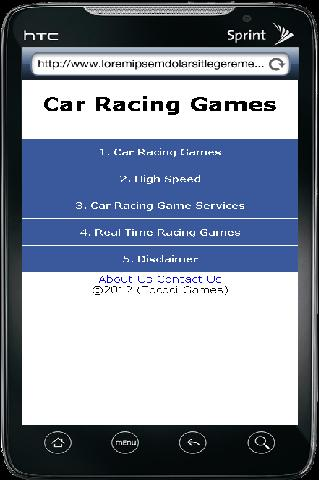 Car Racing Games - screenshot