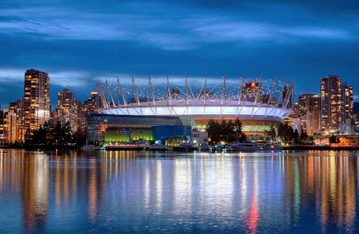 stadium-Vancouver-British-Columbia - BC Place Stadium in Vancouver, British Columbia