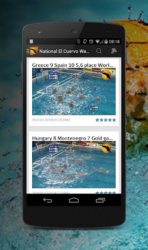 【免費運動App】El Cuervo Water Polo-APP點子