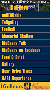 iGoBears California Sports - screenshot thumbnail