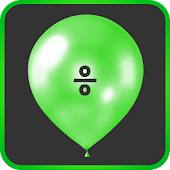 Math Balloons Divide